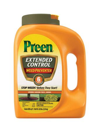 Preen Extended Control Weed Preventer Granule 4.93 lb.