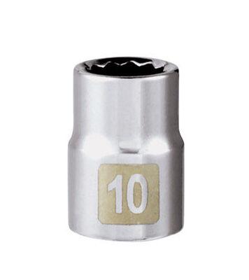 Craftsman 10 Alloy Steel Standard Socket 3/8 in. Drive in. drive
