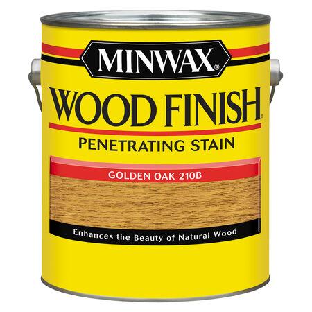 Minwax Wood Finish Semi-Transparent Golden Oak Oil-Based Oil Stain 1 gal.