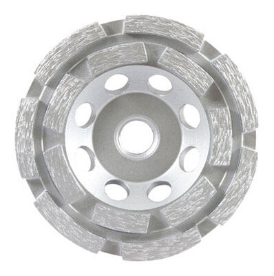 Forney 4 in. Dia. x 5/8 in.-11 in. Cup Grinding Wheel