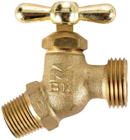 B & K Mueller 1/2 in. MIP Dia. x 3/4 in. Dia. Hose Brass Faucet