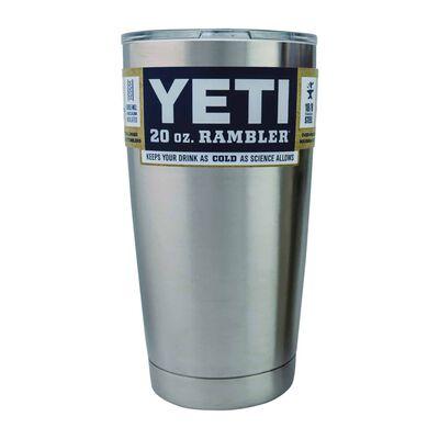 YETI Rambler 20 oz. Insulated Tumbler Silver