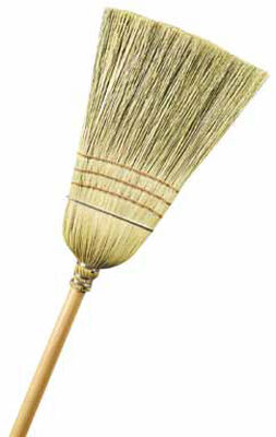Ace Warehouse Broom 12 in. W