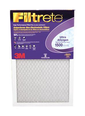 3M Filtrete 12 in. W x 24 in. L x 1 in. D Air Filter