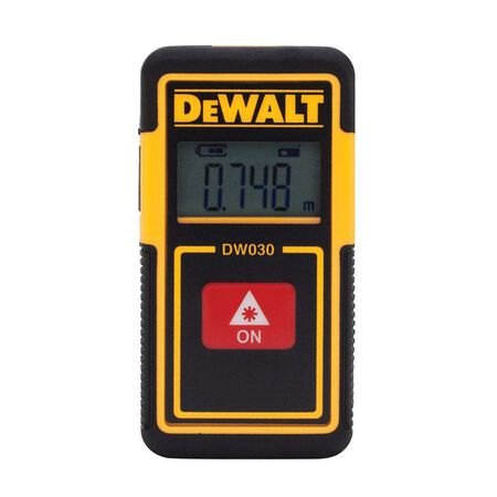 DeWalt Laser Tape Measure 2 in. W x 30 in. L
