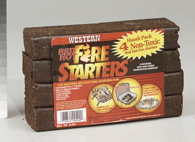 Western Red Hot Fire Starters 2 lb.