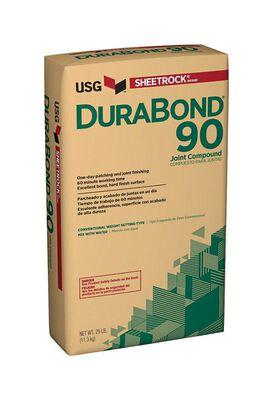 USG Sheetrock DuraBond 90 Joint Compound 25 lb. Natural 90 min