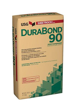 USG Sheetrock DuraBond 90 Joint Compound 25 lb. Natural 90 min