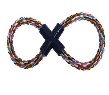 Digger's For Dog Figure 8 Figure Eight Rope Dog Toy