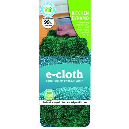 E-Cloth Microfiber Kitchen Cleaning Cloth 3-1/2 in. W x 6-1/2 in. L 1 pk