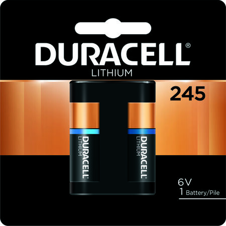 Duracell Ultra Lithium 245 6 volts Camera Battery DL245BPK
