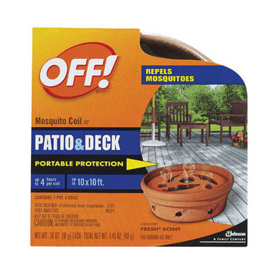 OFF! Mosquito Coil D-Trans Allethrin Coils 2.1 oz.