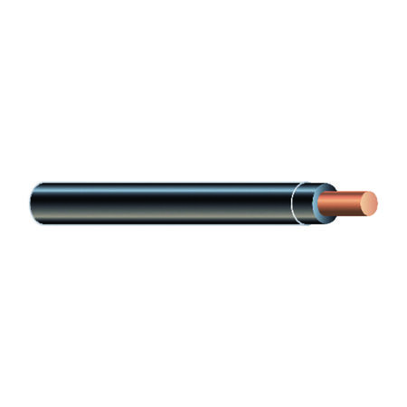 Southwire 50 ft. 12/1 THHN Solid Wire Black