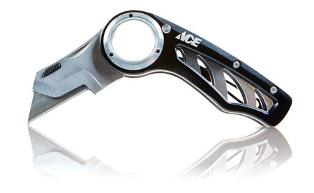 Ace Folding Knife Black