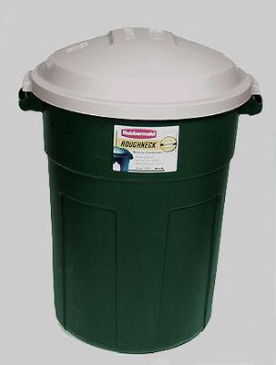 Rubbermaid Roughneck 32 gal. Plastic Garbage Can