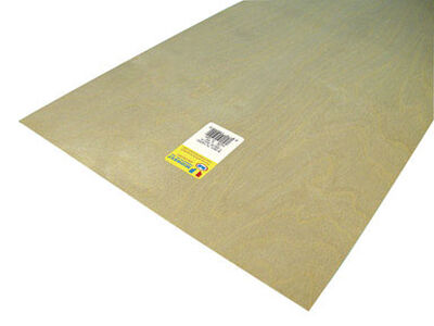 Midwest Products 1/64 in. x 1 in. W x 2 in. L Aircraft Grade Plywood