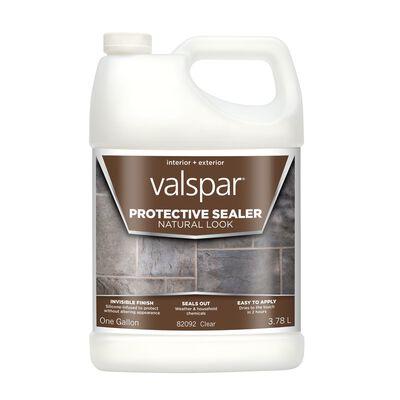 Valspar Waterproof Transparent Natural Sealer 1 gal.