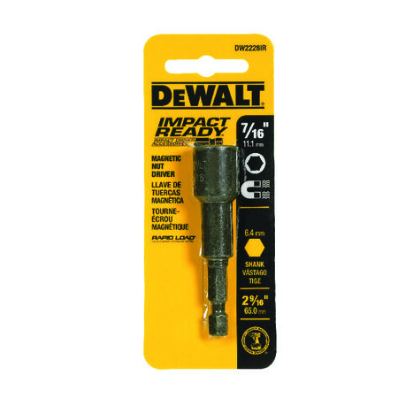 """7/16"""" x 2-9/16"""" Magnetic Nut Driver - IMPACT READY(R)"""
