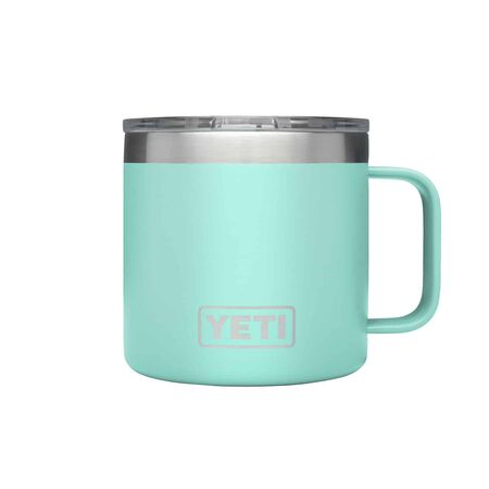YETI Rambler 14 oz. Insulated Mug Seafoam