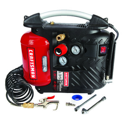 Craftsman Vertical Air Compressor 135 psi 3/4 hp