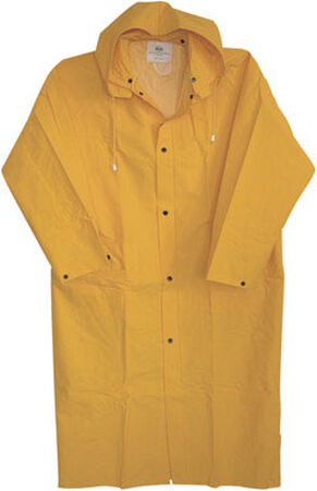 Boss Yellow PVC-Coated Rayon Raincoat X-Large