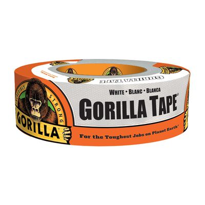 Gorilla Duct Tape 1.88 in. W x 30 yd. L White