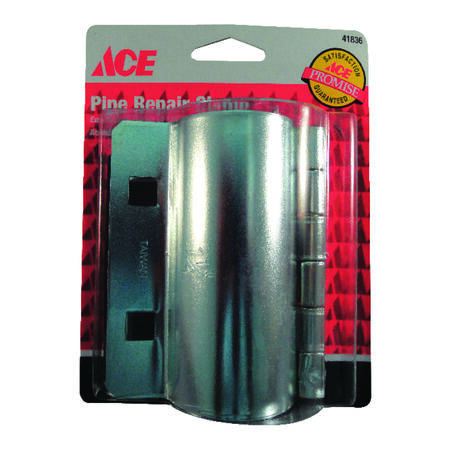 Ace 1-1/4 in. Dia. Steel Pipe Repair Clamp