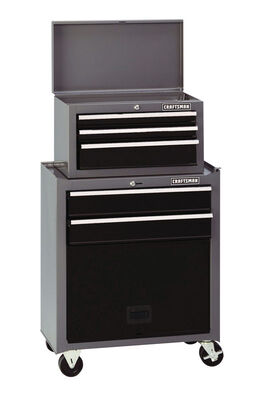 Craftsman 5 drawer Ball-Bearing Tool Center 14 in. D x 26-1/2 in. W x 44-1/4 in. H