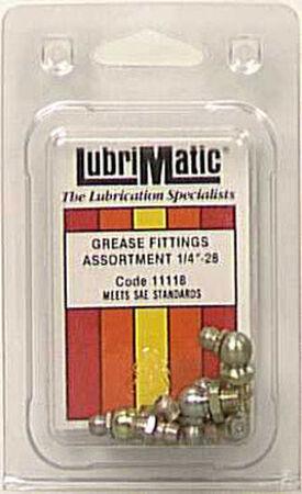 Lubrimatic 45 deg. 90 deg. deg. Grease Fittings 8