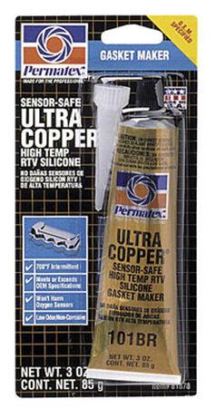Permatex 3 oz. Ultra Copper RTV Silicone Gasket Maker