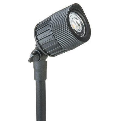 Paradise Low Voltage LED Spot Light Black 7 watts 1 pk