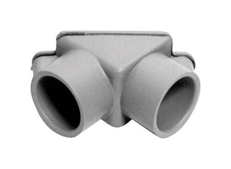 Cantex 1/2 in. Dia. PVC Electrical Conduit Elbow