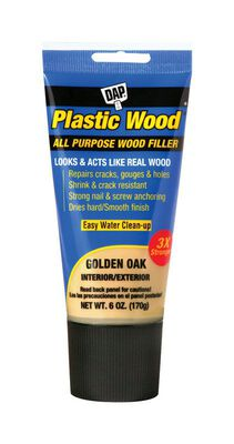 DAP Plastic Wood Golden Oak Wood Filler 6 oz.