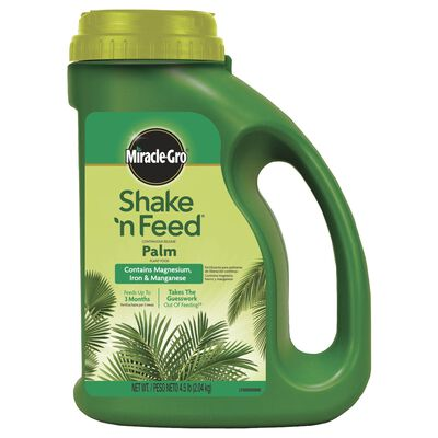 Miracle-Gro Share ' n Feed Plant Food For Palm Trees Ixora 4.5 lb.