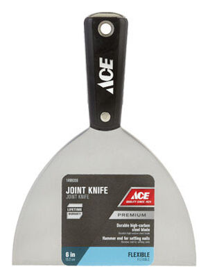 Ace 6 in. W High Carbon Steel Joint Knife Flexible