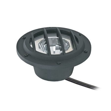 Living Accents Black Low Voltage 2.5 watts LED Well Light 1 pk