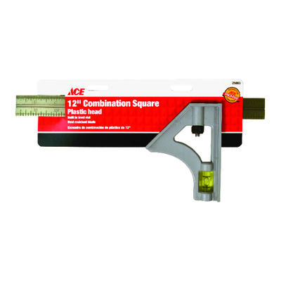 Ace Steel Combination Square 12 in. L