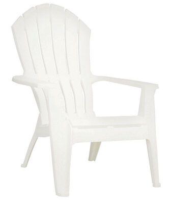 Adams RealComfort Adirondack Chair 1 pc. White