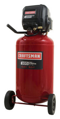 Craftsman Vertical Air Compressor 165 psi 1.7 hp