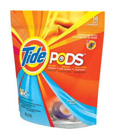 Tide Ocean Mist Scent Laundry Detergent 16 pk