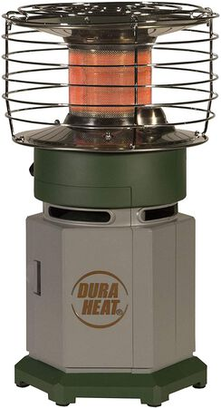 Dura Heat LP10-360 Single Tank Portable 360 Degree Indoor Outdoor Propane Heater, 10,000 BTU