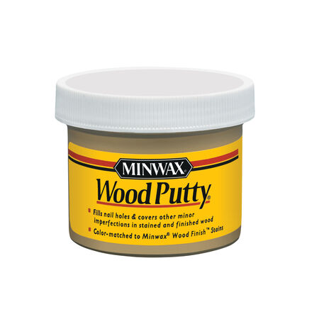 Minwax Pickled Oak Wood Putty 3.75 oz.