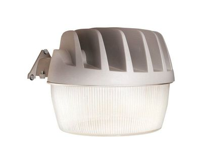 All-Pro Dusk to Dawn LED Gray Outdoor Wall Fixtures 53.3 watts 1 pk