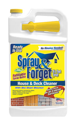 Spray & Forget House and Deck Cleaner Bottle 1 gal.