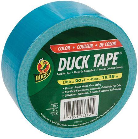 Duck Brand Duct Tape 1.88 in. W x 20 yd. L Aqua