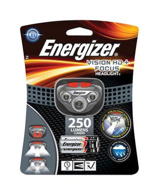 Energizer Vision HD + Focus 300 lumens Headlight LED Gray
