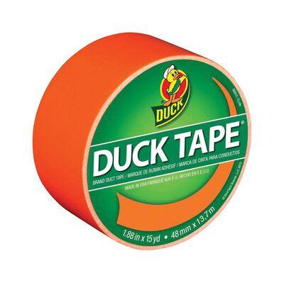 Duck Brand Duct Tape 1.88 in. W x 15 yd. L Orange