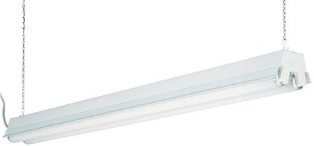 Lithonia Lighting 48 in. L 2 lights T12 Fluorescent Light Fixture Shoplight