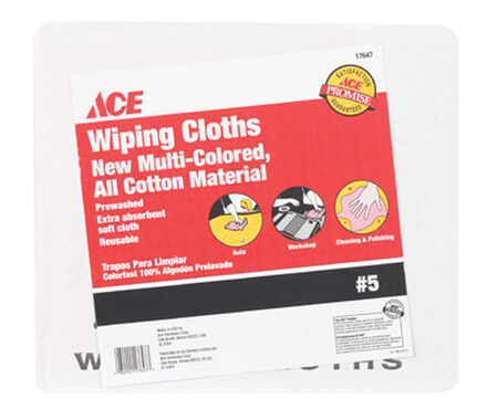 Ace Cotton Cleaning Cloth 5 lb.