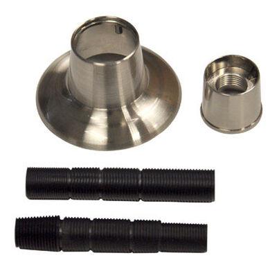 Ace Brushed Nickel Brushed Nickel Flange and Nipple Set
